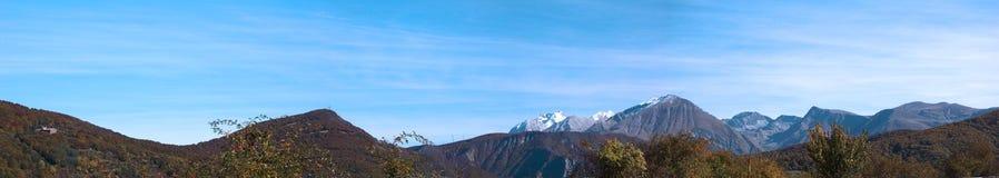 vista panoramica immagine stock