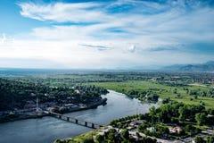 Vista panoramica ad albanese Immagine Stock