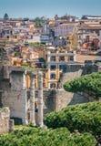 Vista panoramica dal monumento di Vittorio Emanuele II a Roma, Italia Fotografie Stock Libere da Diritti