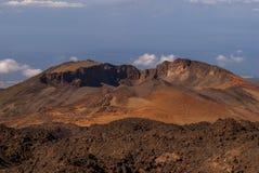 Vista panoramica dal supporto Teide Fotografia Stock
