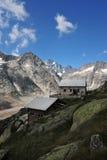 Vista panoramica dalla capanna di Lauteraar Immagine Stock Libera da Diritti