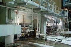 Vista panoramica del â industriale di scena Immagini Stock Libere da Diritti