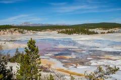 Vista panoramica del bacino della porcellana fotografie stock libere da diritti