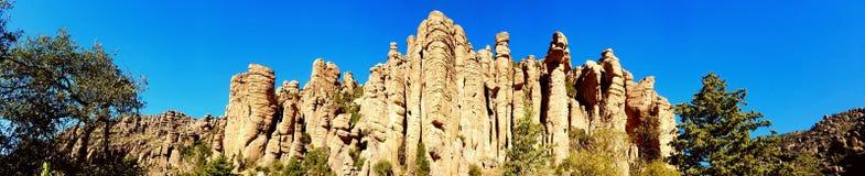Vista panoramica del canyon della canna d'organo Immagini Stock Libere da Diritti