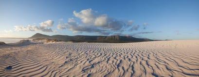 Vista panoramica del deserto Fotografia Stock