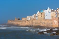 Vista panoramica del Marocco Essaouira Fotografia Stock Libera da Diritti