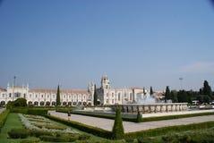 Vista panoramica del monastero di Belem Immagini Stock
