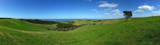 Vista panoramica del paesaggio Fotografie Stock