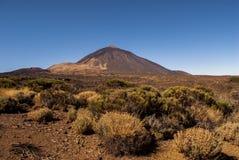Vista panoramica del supporto Teide Fotografie Stock