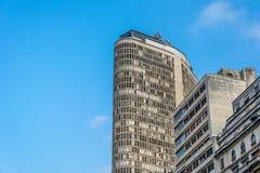 Vista panoramica dell'edificio famoso dell'Italia del grattacielo, nel sao immagini stock libere da diritti