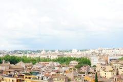 Vista panoramica dell'Italia Roma fotografie stock libere da diritti