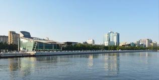 Vista panoramica della baia di Bacu Immagini Stock Libere da Diritti