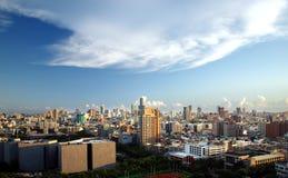 Vista panoramica della città di Kaohsiung Immagini Stock