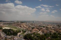 Vista panoramica della città di Urfa Fotografie Stock
