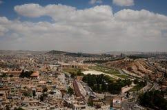 Vista panoramica della città di Urfa Immagine Stock Libera da Diritti