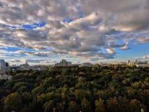 Vista panoramica della città Minsk fotografie stock libere da diritti