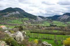 Vista panoramica della Francia rurale Fotografie Stock
