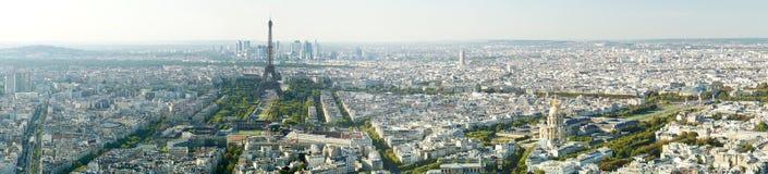 Vista panoramica della torre Eiffel, Parigi, Francia, Europa Fotografia Stock
