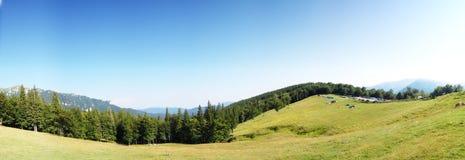 Vista panoramica della valle Immagini Stock