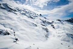 Vista panoramica delle alpi di Urner Immagine Stock Libera da Diritti
