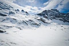 Vista panoramica delle alpi di Urner Immagine Stock