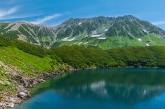Vista panoramica delle montagne di estate Immagine Stock Libera da Diritti