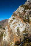 Vista panoramica di Alpes Fotografie Stock