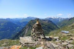 Vista panoramica di Alpes Immagini Stock Libere da Diritti