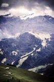 Vista panoramica di Alpes Immagine Stock Libera da Diritti