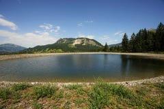 Vista panoramica di Alpes Fotografia Stock