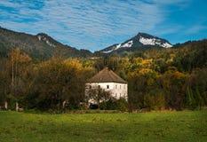 Vista panoramica di Alpes bavaria germany fotografia stock libera da diritti