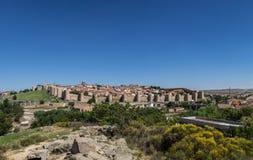 Vista panoramica di Avila, Spagna Immagine Stock Libera da Diritti