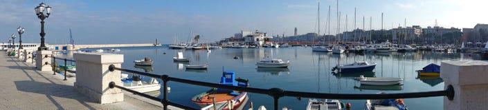 Vista panoramica di Bari La Puglia L'Italia Fotografie Stock