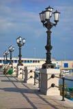 Vista panoramica di Bari La Puglia L'Italia Immagini Stock Libere da Diritti