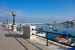 Vista panoramica di Bari La Puglia L'Italia Fotografie Stock Libere da Diritti