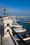 Vista panoramica di Bari La Puglia L'Italia Immagini Stock