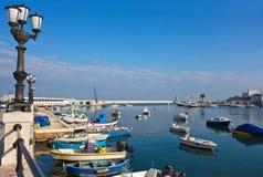 Vista panoramica di Bari La Puglia L'Italia Immagine Stock