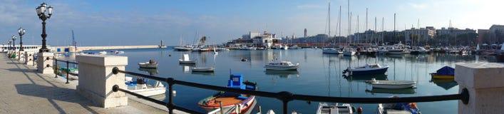 Vista panoramica di Bari La Puglia L'Italia Immagine Stock Libera da Diritti