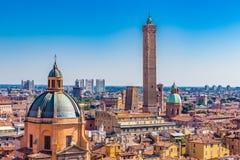 Vista panoramica di Bologna immagine stock libera da diritti