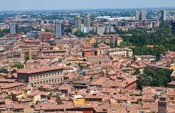 Vista panoramica di Bologna. L'Emilia Romagna. L'Italia. Immagini Stock