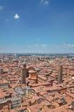 Vista panoramica di Bologna. L'Emilia Romagna. L'Italia. Fotografia Stock