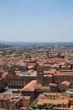 Vista panoramica di Bologna. L'Emilia Romagna. L'Italia. Immagini Stock Libere da Diritti