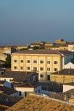 Vista panoramica di Bovino La Puglia L'Italia Fotografie Stock Libere da Diritti