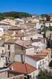 Vista panoramica di Cancellara La Basilicata L'Italia Immagini Stock