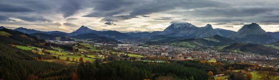 Vista panoramica di Durango Fotografie Stock Libere da Diritti