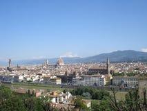 Vista panoramica di Firenze Fotografie Stock