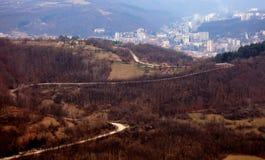 Vista panoramica di Gabrovo Fotografia Stock