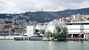 Vista panoramica di Genova, Italia archivi video