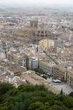 Vista panoramica di Granada Fotografia Stock