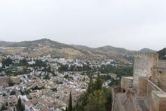 Vista panoramica di Granada Fotografia Stock Libera da Diritti